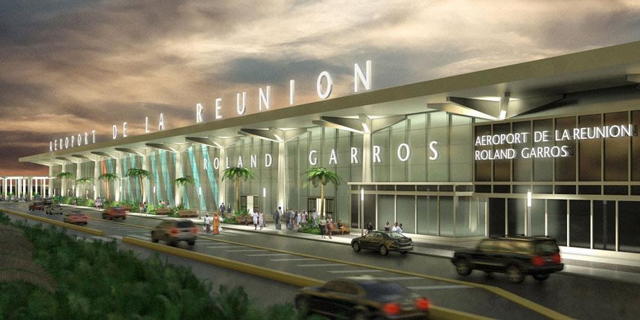 L'Aéroport de la Réunion Roland Garros