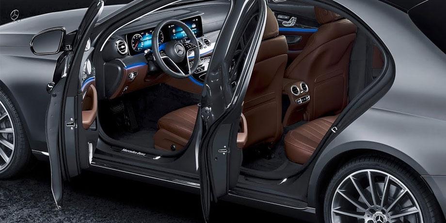 Mercedes Classe E intérieur